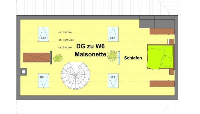 -Grafisi DG Maisonette W6-gefärbt